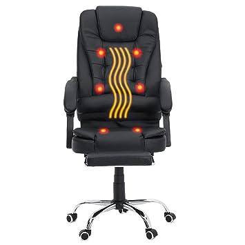 Ergonomique Bureau Chaise En Pu Homgrace Fauteuil Cuir De pGUzSqMV