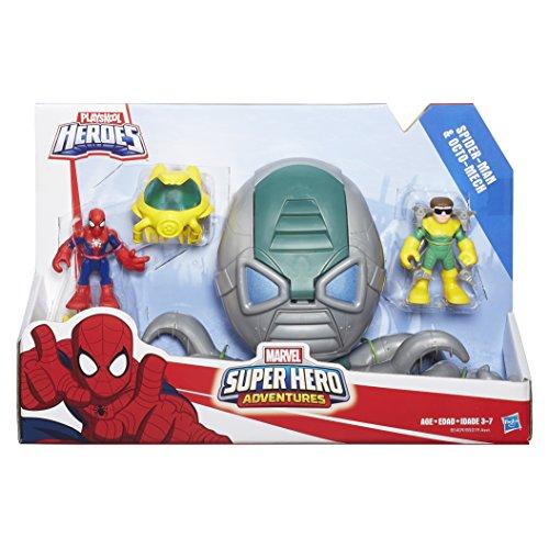 Playskool heroes super hero adventures spider man octo - Playskool helmet heroes police officer ...