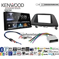 Volunteer Audio Kenwood DDX9704S Double Din Radio Install Kit with Apple Carplay Android Auto Fits 2008-2010 Honda Odyssey