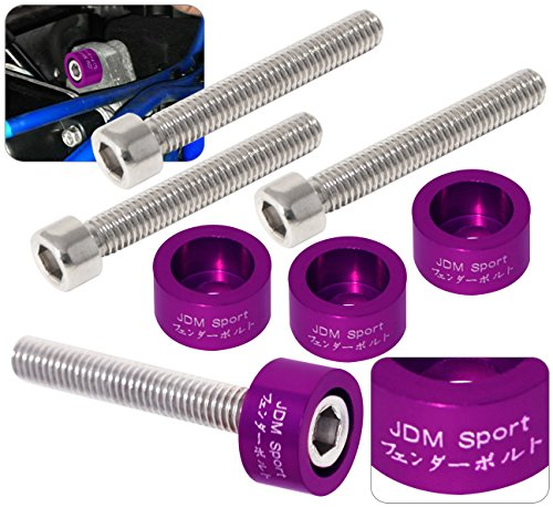 Acura Honda B-Series B16 B18 Jdm Distributor Cam Cap Cup Washer Bolt Kit Purple (Distributor 1987 Civic Honda)