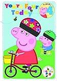 Peppa Pig Carton d'anniversaire 4 ans