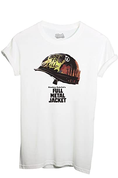 T-Shirt Stanley Kubricks La Chaqueta Metálica - Film By Mush Dress Your Style: Amazon.es: Ropa y accesorios