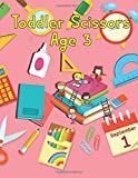 Toddler Scissors Age 3: Cut and Glue Activity Book, Cut and Paste Workbook for Kids Age 3