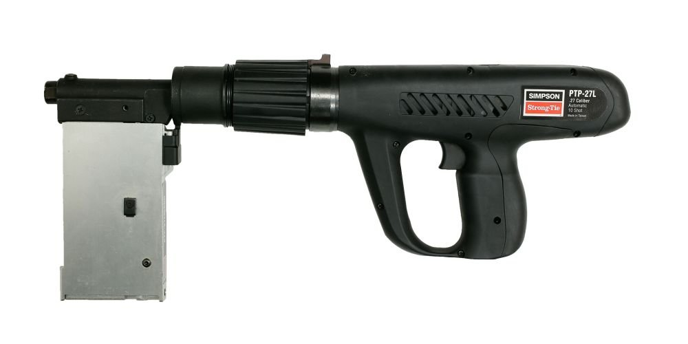 Simpson Strong Tie PTP-27LMAGR .27 Caliber Fully Automatic Fastening Tool- Long Magazine