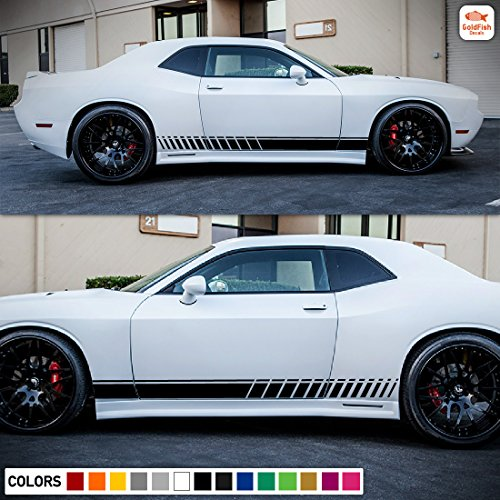 Rally Body Kit (Decal Sticker Vinyl Body Racing Stripe Kit Compatible with Dodge Challenger R/T SXT SRT-8)