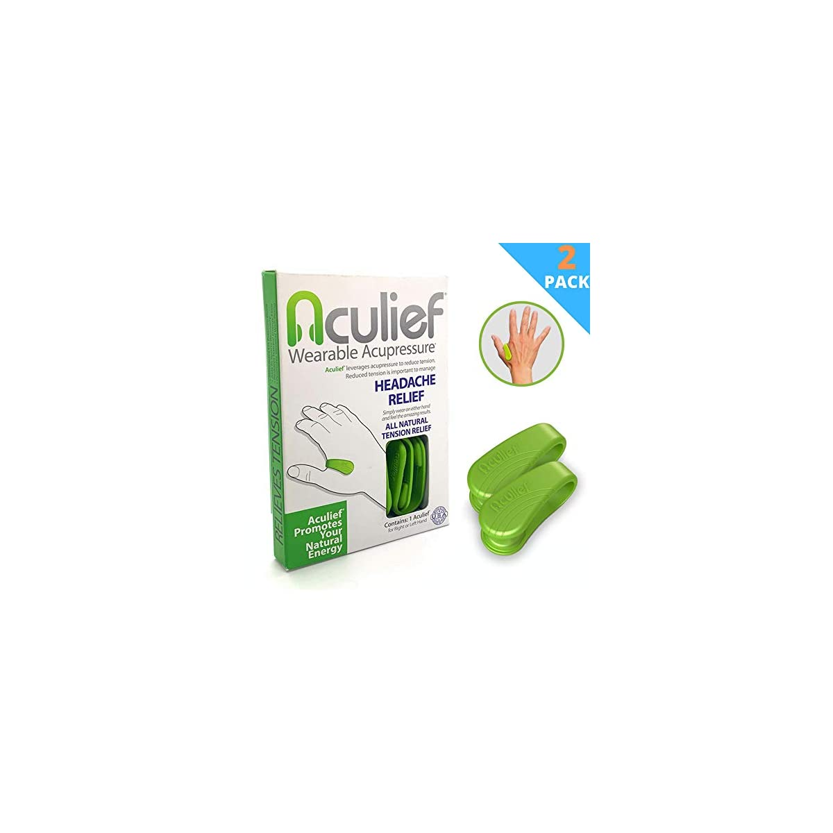 Aculief - Award Winning Natural Headache, Migraine and ...