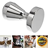Espresso Coffee Tamper Stainless Steel Barista Espresso Tamper 51mm Base