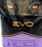 EVO Turkey & Chicken Cat & Kitten Grain Free Food 2.2 Pounds