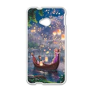 Cartoon Romantic White HTC M7 case