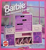 BARBIE Home ENTERTAINMENT CENTER w Stereo System (1995 Arcotoys, Mattel)