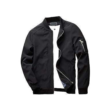URBANFIND Men's Slim Fit Lightweight Sportswear Jacket Casual ...
