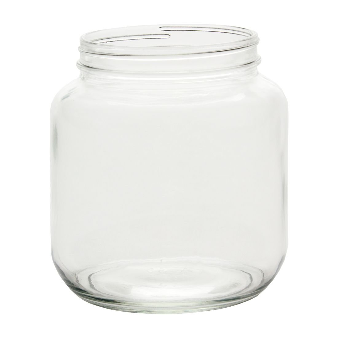 North Mountain Supply 1 /2ガロンガラスwide-mouth 110 CT Fermentation/Canning Jar with Lid 1/2 Gallon ゴールド NMS A0064-00 - 6 Gold Metal B077MRB6P3  Gold Metal Lid