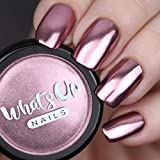 Whats Up Nails - Rose Chrome Powder For Mirror Nails