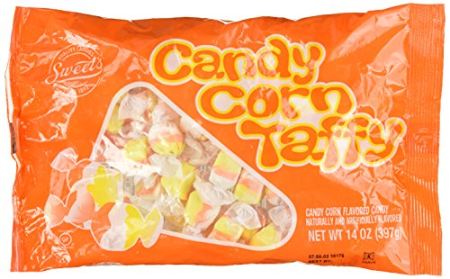 Sweets Halloween Candy Corn Taffy, 14oz Bag By Sweets (Pack of 2 Bags)