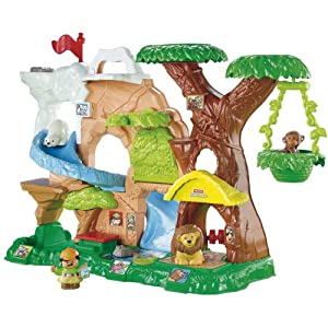 Amazon.com: Fisher-Price Little People Zoo Talkers Animal Sounds Zoo: Toys & Games