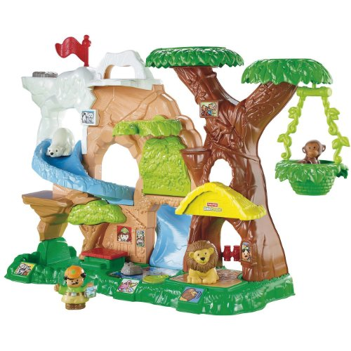 Zoo Learning (Fisher-Price Little People Zoo Talkers Animal Sounds Zoo)