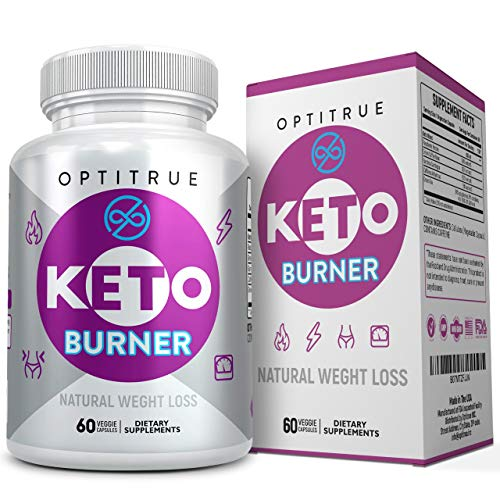 Keto Diet Pills-Natural Weight Loss Ketogenic Diet Supplement-Advanced Formula Fat Burner-Boost Ketosis with Keto Diet Pills That Work Fast for Women Men-Exogenous Raspberry Ketones-Garcinia Cambogia