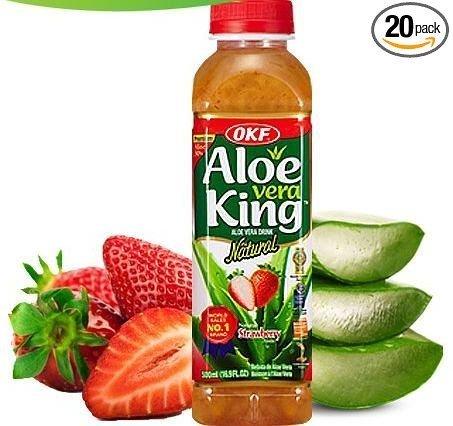 strawberry aloe vera juice - 3