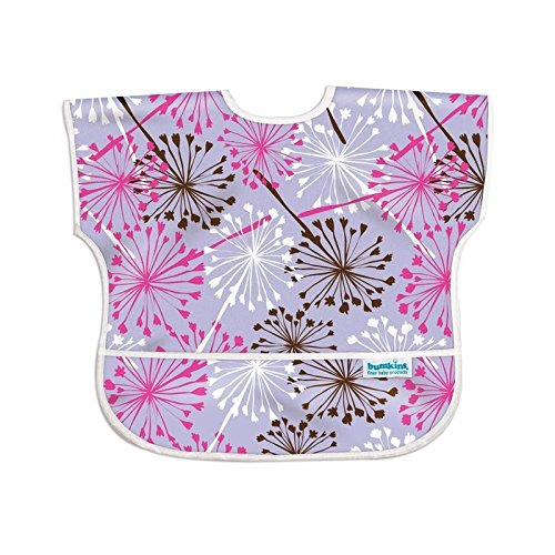 Hippychick Bumkins Junior Bib Lilac Dandelion - Pack of 6