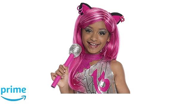 Rubies Costume Co Peluca para disfraz infantil de Monster High Catty Noir: Amazon.es: Juguetes y juegos