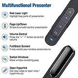 ESYWEN Wireless Presenter Remote RF 2.4GHz