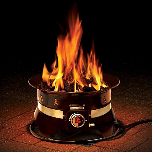 Outland Firebowl 870 Premium Portable Propane Gas Fire Pit with Cover & Carry Kit, 19-Inch Diameter 58,000 BTU by Outland Living (Image #6)