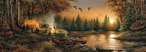 Solitude By Terry - White Mountain Puzzles Evening Solitude - 700 Piece Jigsaw Puzzle