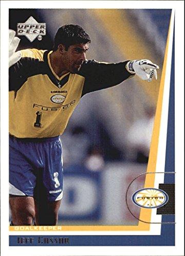 1999 Upper Deck MLS #76 Jeff Cassar RC - NM-MT
