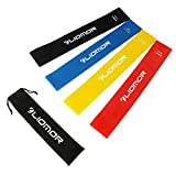 Cheap Liomor Exercise Resistance Loop Bands – Set of 4, Best for Workout, Strengthen Training, Stretching, Home Fitness and Physical Therapy