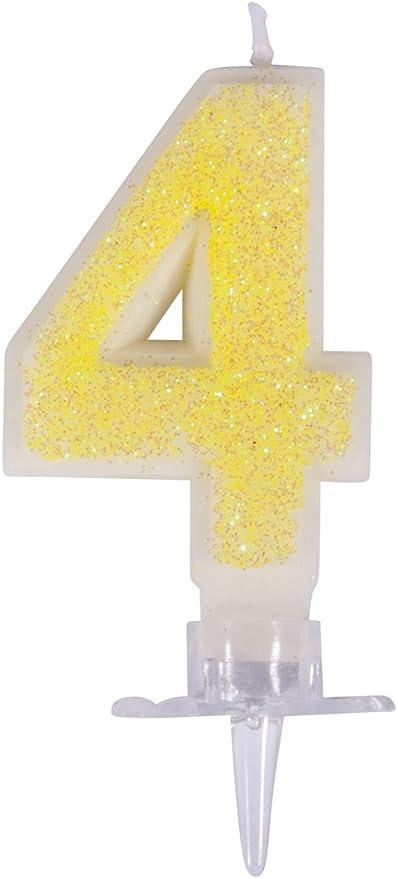 Blu Rayher 31608000 Candela Cifra0 con Glitter E Base