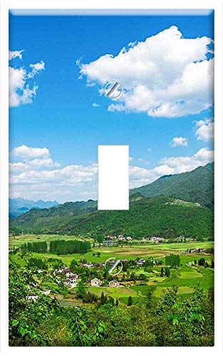 Switch Plate Single Toggle - Mountain Village Village -