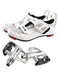 Road cycling shoes F-121 cycling shoes and pedals XRF5AC