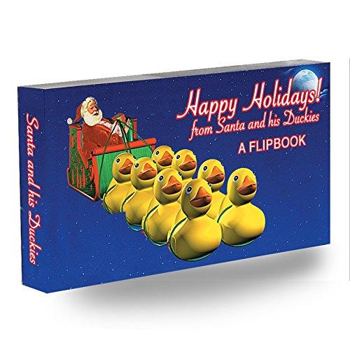 Moonlit Sleigh (Fliptomania Santa and his Duckies! Flipbook)