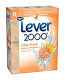 Lever 2000 Bar Soap, Citrus Bars, 4-Ounce, 8-Count For Sale
