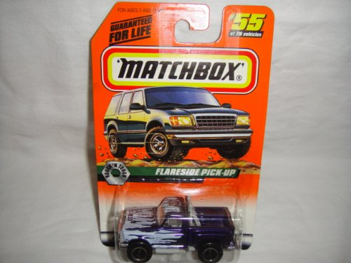 MATCHBOX #55 OF 100 ROUGH'N TOUGH SERIES FLARESIDE F-150 FORD PICK-UP DIE-CAST COLLECTIBLE