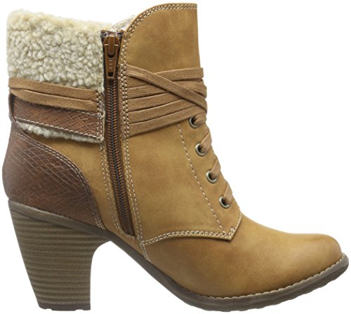 s.Oliver 26105, Botines para Mujer Marrón (MUSCAT COMB 316)