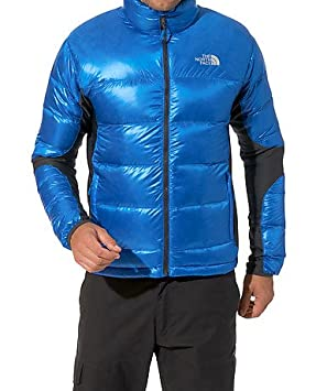 2c16b5e7ff THE NORTH FACE - veste duvet crimptastic hybrid jacket coloris bleu tail