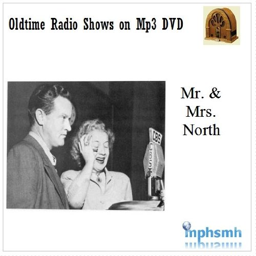 MR AND MRS NORTH Old Time Radio (OTR) series (1942-1954) Mp3 DVD 62 episodes