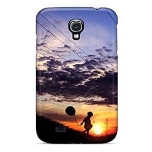 Galaxy High Quality Tpu Case/ Playing Alone FjYKZkr7124ZOAGc Case Cover For Galaxy S4