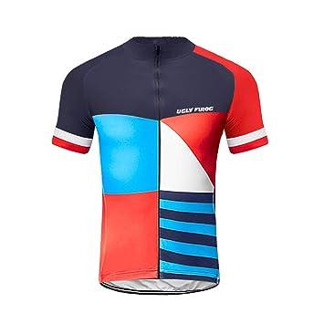 Uglyfrog Ropa Ciclismo, Maillot Mangas Cortas, Camiseta ...