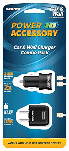 Rayovac Wall Charger Combo Pack
