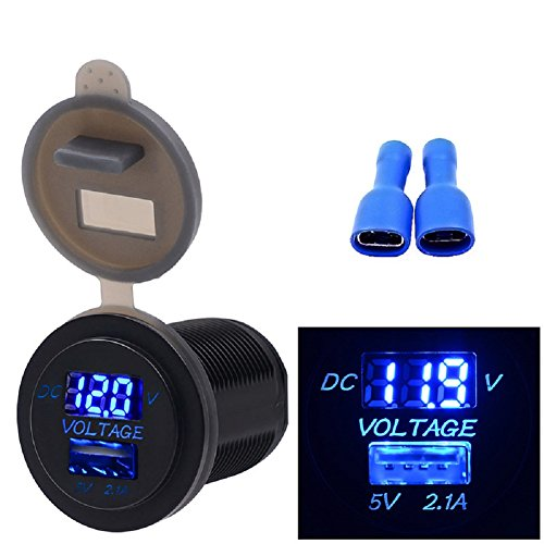 Motorcycle Battery Voltage - 8