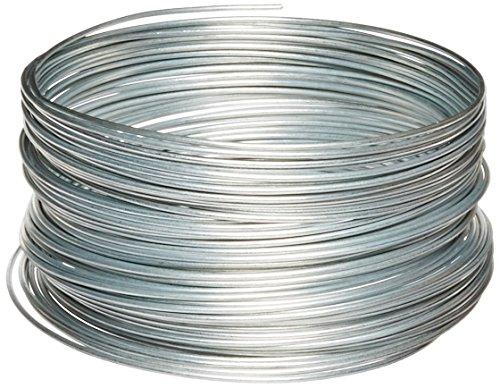 Galvanized Wire - OOK 50141 12 Gauge Steel Galvanized Wire, 100 ft., 2-Pack