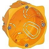 Legrand LEG90541 Boite d'encastrement  Batibox 1 poste Plaques de Plâtre - profondeur 40mm