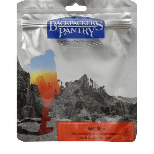 Pantry Beef Backpackers - Backpacker's Pantry Vegetable Stew with Beef, Four Serving Pouch