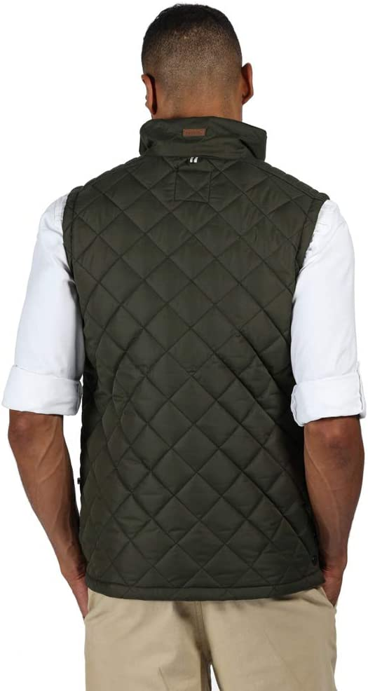 Regatta Mens Lleyton Water Repellent Fully Lined Quilted Insulated Gilet Bodywarmers