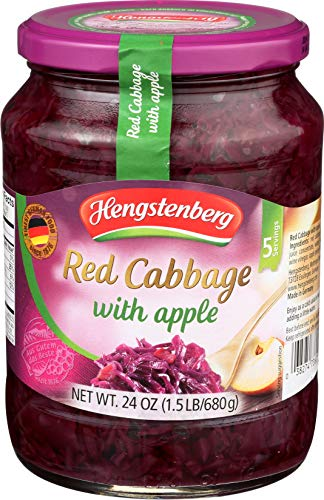 Hengstenberg Cabbage Red Apple, 24 - Red And Apple Cabbage