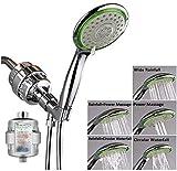 Filtered Handheld Shower Head Set Combo, Including 12- Stage Shower Filter, High Pressure