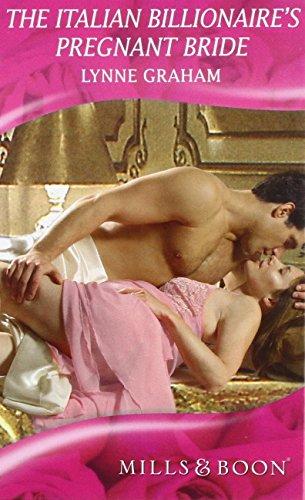 book cover of The Italian Billionaire\'s Pregnant Bride