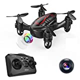 Black Friday Deal! DROCON Hacker Drone, RC Quadcopter Micro Mini Drone with 720P HD Camera, Headless Mode, Easy to Trim, 360 Degree Flip